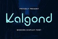Web Font Kalgond Product Image 2