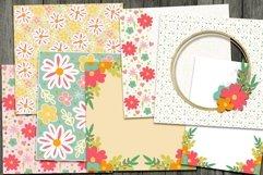 Layered Flowers Scrapbooking Kit Product Image 2