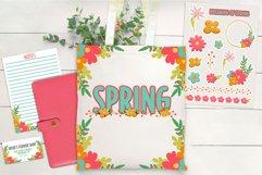 Layered Flowers Scrapbooking Kit Product Image 5