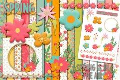 Layered Flowers Scrapbooking Kit Product Image 1