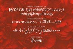 Web Font Kellermet - A Modern Handwritten Font Product Image 4