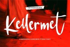 Kellermet - A Modern Handwritten Font Product Image 1