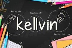 Kellvin - A School Display Font Product Image 6