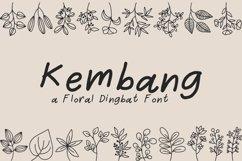 Kembang - Floral Dingbat Product Image 1