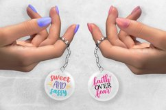 Keychain Bundle SVG, Keychain SVG Quotes Product Image 6