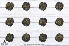 Keychain zodiac keychain bundle svg Zodiac signs svg Product Image 3