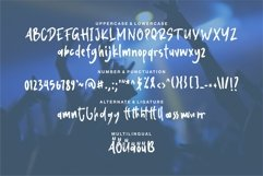 Khalid - Modern Brush Font Product Image 2