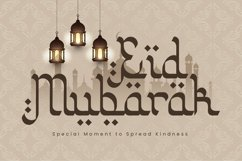 Web Font Khalimah - Arabic Font Product Image 2