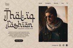 Web Font Khalimah - Arabic Font Product Image 4