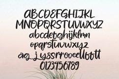 Web Font Kickback - A Handlettering Font Product Image 5