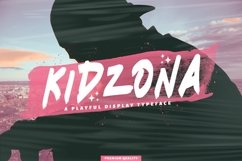 Web Font Kidzona Product Image 1