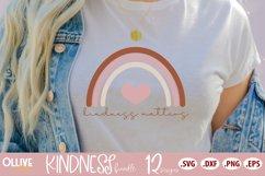 Kindness Bundle SVG | 12 Designs SVG PNG EPS DXF Product Image 3