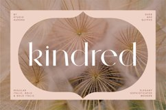 Kindred - Elegant and chic font Product Image 1