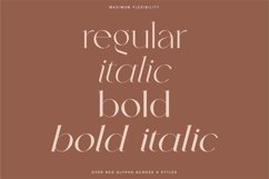Kindred - Elegant and chic font Product Image 2