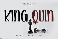 King Quin - Modern Handwritten Font Product Image 1