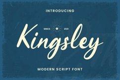 Web Font Kingsley Product Image 1