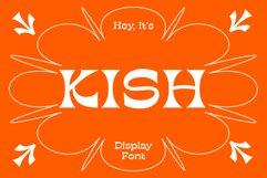 KISH Quirky Display Font Product Image 1