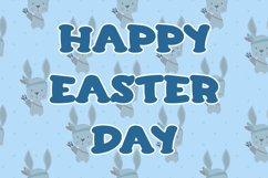 Kisses Bunny - Easter Display Font Product Image 5