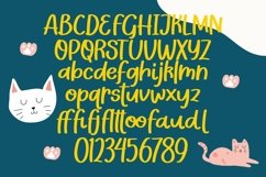Web Font Kittyland - Handlettering Font Product Image 6