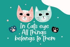 Kittyland - Handlettering Font Product Image 2