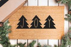 Peace Trees - Decorative Christmas Font Product Image 3
