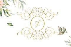 swirl monogram decorative Product Image 1
