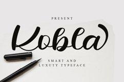 Kobla - Luxury Script Font Product Image 1