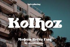 Kolhoz - Modern Retro Font Product Image 1