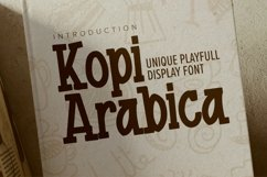 Kopi Arabica Product Image 1