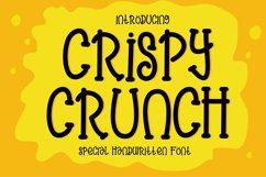Crispy Crunch Font Product Image 1