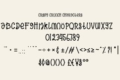 Crispy Crunch Font Product Image 5