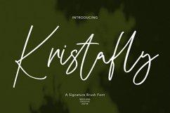 Kristafly Signature Brush Font Product Image 1