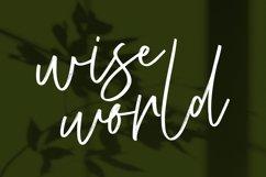 Kristafly Signature Brush Font Product Image 5