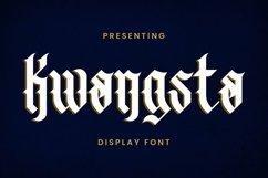 Web Font Kwangsta - Blackletter Font Product Image 1