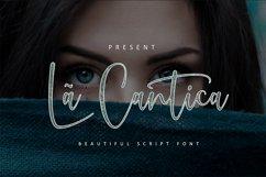 La Cantica Script Font Product Image 1