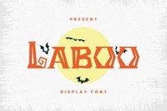 Web Font Laboo Font Product Image 1