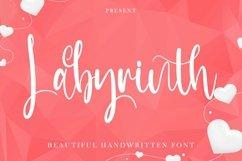 Web Font Labyrinth - Beautiful Handwritten Font Product Image 1