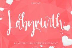 Labyrinth - Beautiful Handwritten Font Product Image 1