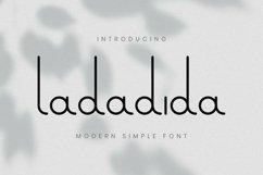 Web Font Ladadida Font Product Image 1