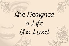 Lady Rose - a playful and modern script font Product Image 6