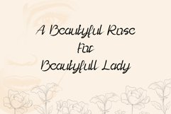 Lady Rose - a playful and modern script font Product Image 5