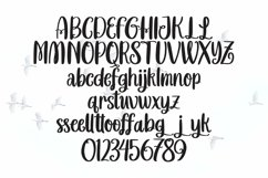 Web Font Ladyday - Sweet Handlettered Font Product Image 3