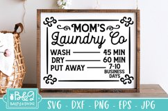 Laundry SVG | Laundry Co Schedule | Funny Farmhouse SVG Product Image 1
