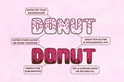 Donut Duo - A delightful doughy font duo! Product Image 4