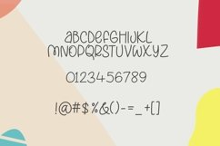 Web Font Lazy Beans - a quirky handwritten font Product Image 5