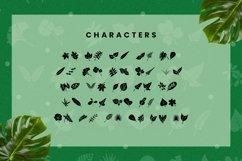 Web Font Leaf - Dingbat Font Product Image 5