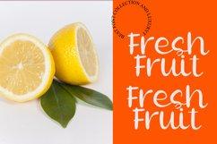 Lemon Juice - Fresh Handwritten Font Product Image 4