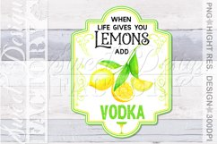 lemonade sublimation designs, mojito png, lemonade label, Product Image 5