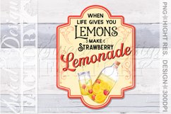 lemonade sublimation designs, mojito png, lemonade label, Product Image 4