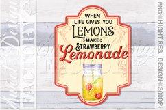 lemonade sublimation designs, mojito png, lemonade label, Product Image 2